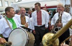 Celebrazione ricamo e del borscht_24 Immagini Stock