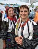 Celebrazione ricamo e del borscht_20 Fotografie Stock
