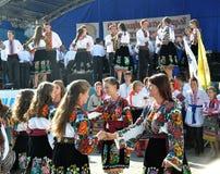 Celebrazione ricamo e del borscht_29 Fotografie Stock
