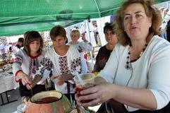 Celebrazione ricamo e del borscht_19 Fotografia Stock Libera da Diritti