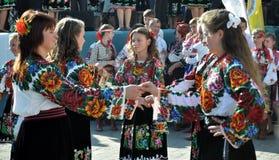 Celebrazione ricamo e del borscht_31 Fotografie Stock Libere da Diritti