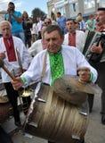 Celebrazione ricamo e del borscht_25 Fotografie Stock Libere da Diritti