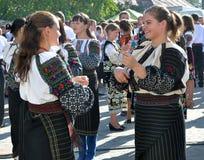 Celebrazione ricamo e del borscht_32 Fotografie Stock Libere da Diritti