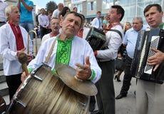 Celebrazione ricamo e del borscht_26 Fotografia Stock