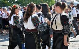 Celebrazione ricamo e del borscht_27 Immagini Stock