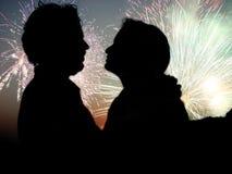 Celebrazione romantica Immagini Stock