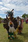 Celebrazione in tensione di giorno aborigeno in Winnipeg Immagini Stock Libere da Diritti
