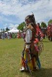 Celebrazione in tensione di giorno aborigeno in Winnipeg Immagine Stock Libera da Diritti