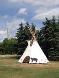 Celebrazione in tensione di giorno aborigeno in Winnipeg Immagine Stock
