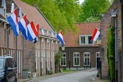 """Celebrazione tradizionale di compleanno di re dei Paesi Bassi Willem-Alexander, re \ """"festa nazionale di giorno di s il 27 aprile fotografia stock"""