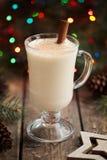 Celebrazione tradizionale di festa dei christmass dello zabaione Fotografia Stock