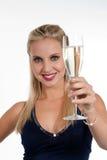 Celebrazione Years'Eve nuovo o del compleanno Fotografia Stock Libera da Diritti