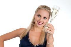 Celebrazione Years'Eve nuovo o del compleanno Immagine Stock