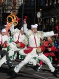 Celebrazioni cinesi di ballo di NY Fotografie Stock