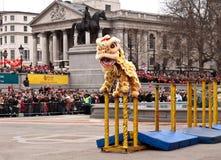 Celebrazioni cinesi di nuovo anno. Fotografia Stock Libera da Diritti