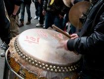 Celebrazioni cinesi di nuovo anno Immagine Stock Libera da Diritti