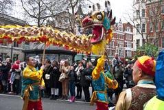 Celebrazioni cinesi di nuovo anno. Fotografie Stock