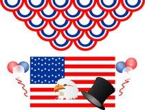 Celebrazioni degli S.U.A. Fotografia Stock