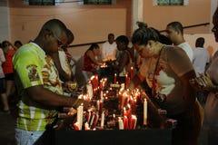 Celebrazioni del giorno di St George in Rio de Janeiro fotografie stock libere da diritti