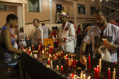 Celebrazioni del giorno di St George in Rio de Janeiro fotografia stock