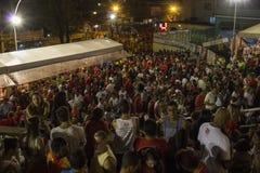 Celebrazioni del giorno di St George in Rio de Janeiro fotografia stock libera da diritti