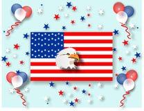 Celebrazioni di festa degli S.U.A. Fotografia Stock Libera da Diritti
