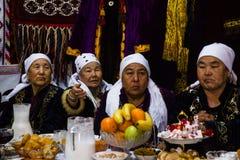 Celebrazioni di Navruz Fotografia Stock