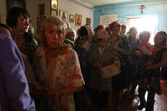 Celebrazioni ortodosse Immagini Stock