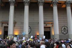 Papa Celebrations di Buenos Aires Fotografie Stock Libere da Diritti