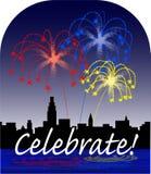 Celebre Imagen de archivo libre de regalías