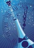 Celebre el Año Nuevo 2 del fondo stock de ilustración