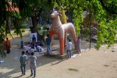 Celebre el Año Nuevo bengalí próximo Foto de archivo libre de regalías