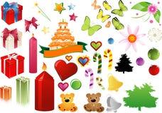 Celebre el clipart Imagen de archivo