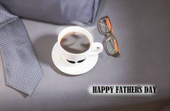 Celebre el día de padre Fotos de archivo