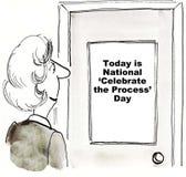 Celebre el proceso libre illustration