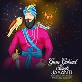 Celebre a Guru Gobind Singh Jayanti libre illustration
