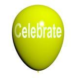 Celebre los partidos y las celebraciones de los eventos de los medios del globo libre illustration