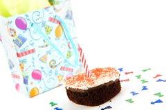 Celebremos un cumpleaños fotografía de archivo libre de regalías