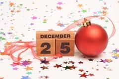 Celebri il Natale Immagini Stock