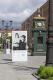 Celebridades e crianças com Síndrome de Down nos cartazes Fotografia de Stock