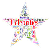 Celebrities Star Means Notorious Renowned And Celebrity Royalty Free Stock Photos