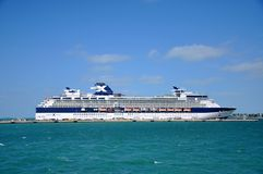 Celebrity Constellation in Key West Royalty Free Stock Photos