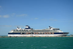Celebrity Constellation in Key West Stock Photos