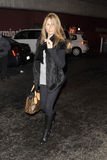 Celebrity Daisy Fuentes is seen at LAX airport Stock Images