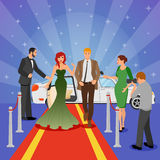 Celebrity Design Composition Royalty Free Stock Photo