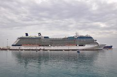 Celebrity Eclipse cruise ship Royalty Free Stock Images