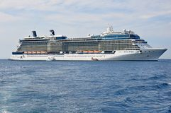 Celebrity Eclipse cruise ship Royalty Free Stock Photos