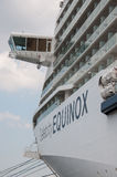 Celebrity Equinix. Cruise ship for Celebrity Cruises Stock Photography