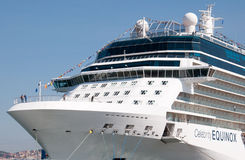 Celebrity Equinox. Cruise ship Celebrity Equinox, Celebrity Cruise Lines stock photo