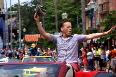 Celebrity Guest Dee Bradley Baker during Star Wars Weekends 2014 Royalty Free Stock Image
